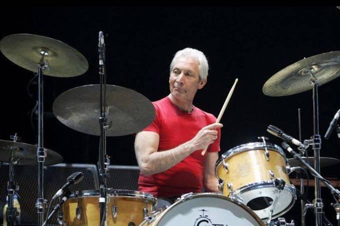 Cirurgia tira Charlie Watts da turnê dos Rolling Stones