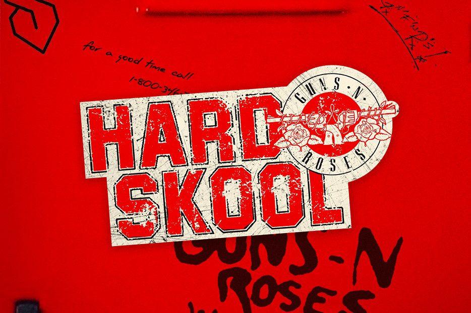 Guns N' Roses libera a música 'Hard Skool'