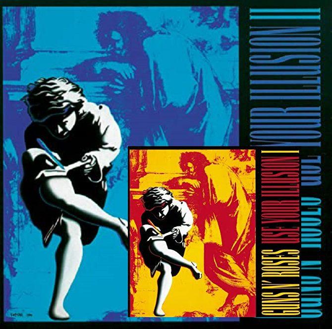 'Use Your Illusions', álbuns duplos do Guns N' Roses, completam 30 anos