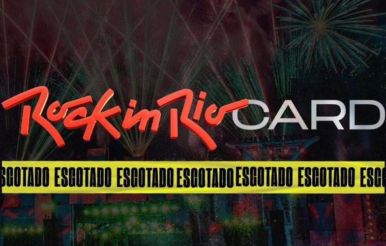 Esgotados em tempo recorde 200 mil Rock in Rio Cards para a edição de 2022